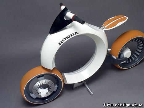 Дизайн Honda Cub